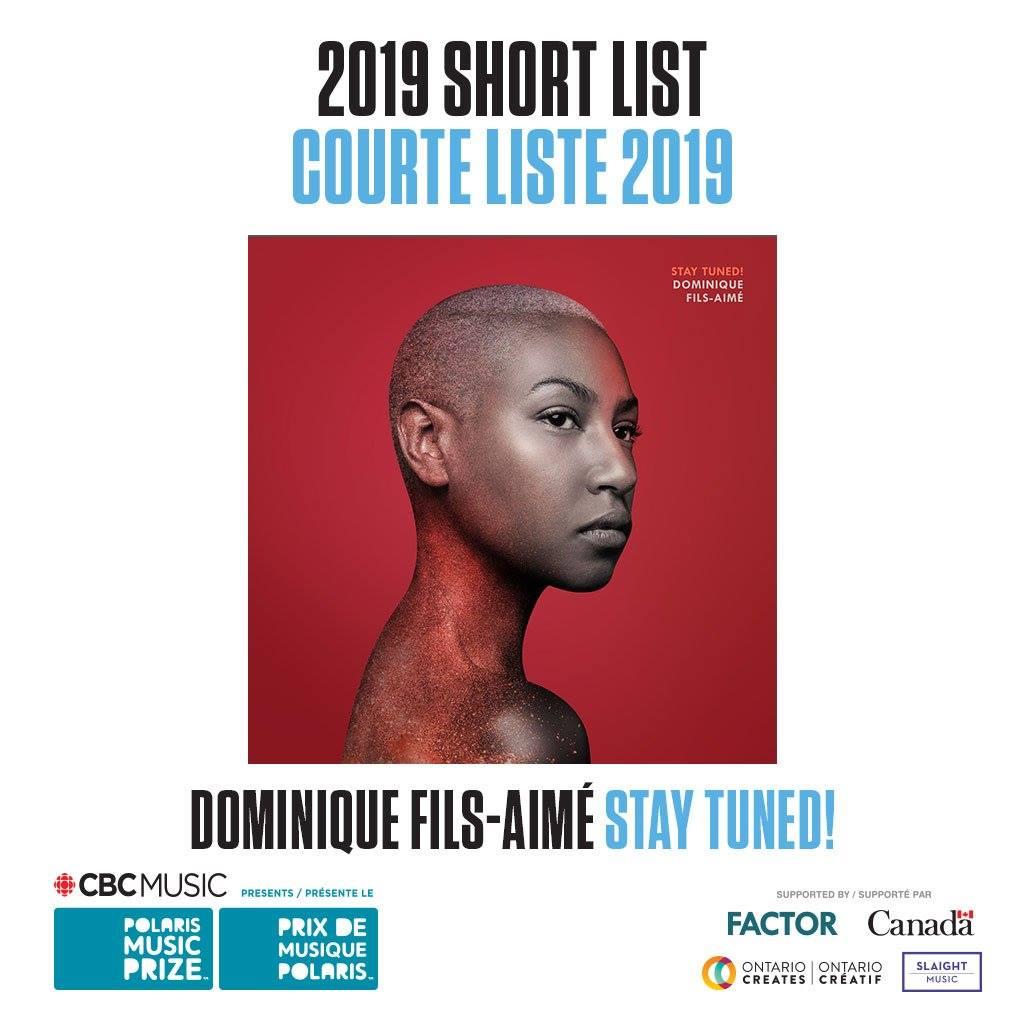 Dominique Fils-Aime Polaris Prize 2019 short list